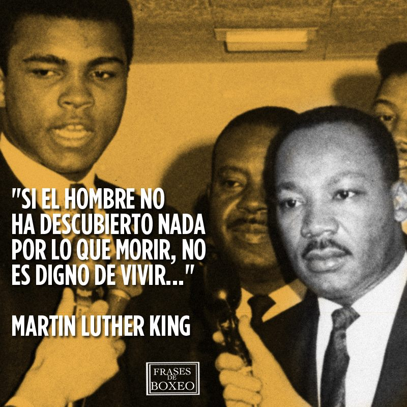 Martin Luther King y ali