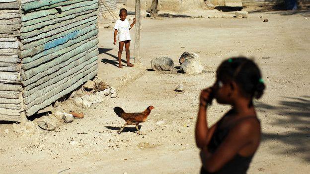La pobreza en República Dominicana alcanza al 41% de la población.