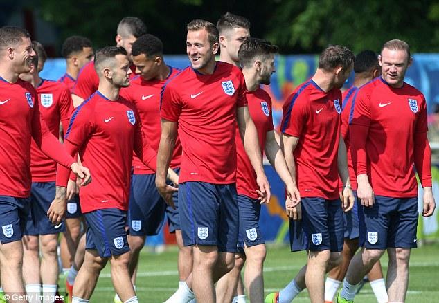 Harry Kane con Inglaterra